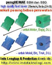 pengHEMAT BBM & BBG(Gas) / Fuel Saver